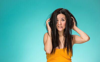 Sorry! My hair is SO dirty!