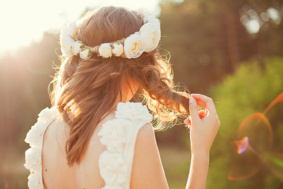 Brides and BABE hair extensions